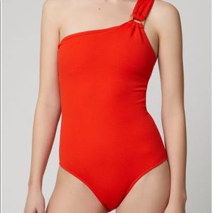 Suboo Rocky One Shoulder One Piece Swimsuit